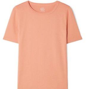 J. Crew Perfect Fit cotton-jersey T-shirt, Peach